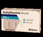 ACETYLLEUCINE MYLAN 500 mg, comprimé à BISCARROSSE