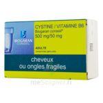 CYSTINE / VITAMINE B6 BIOGARAN CONSEIL 500 mg/50 mg, comprimé pelliculé à BISCARROSSE