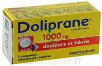 DOLIPRANE 1000 mg Comprimés effervescents sécables T/8 à BISCARROSSE