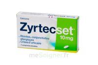 ZYRTECSET 10 mg, comprimé pelliculé sécable à BISCARROSSE
