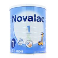 NOVALAC LAIT 1 , 0-6 mois BOITE 800G à BISCARROSSE