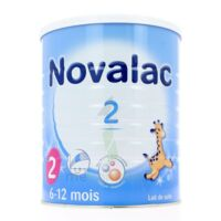 NOVALAC LAIT 2, 6-12 mois BOITE 800G à BISCARROSSE