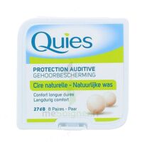 QUIES PROTECTION AUDITIVE CIRE NATURELLE 8 PAIRES à BISCARROSSE