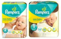 PAMPERS NEW BABY PREMIUM PROTECTION, taille 2, 3 kg à 6 kg, sac 32 à BISCARROSSE