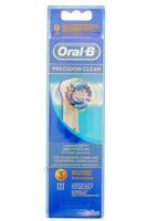 BROSSETTE DE RECHANGE ORAL-B PRECISION CLEAN x 3 à BISCARROSSE