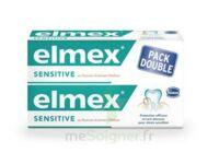 ELMEX SENSITIVE DENTIFRICE, tube 75 ml, pack 2 à BISCARROSSE
