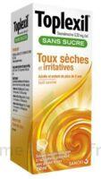 TOPLEXIL 0,33 mg/ml sans sucre solution buvable 150ml à BISCARROSSE
