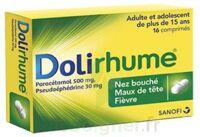 DOLIRHUME PARACETAMOL ET PSEUDOEPHEDRINE 500 mg/30 mg, comprimé à BISCARROSSE