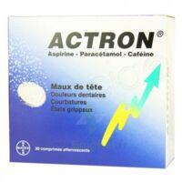 ACTRON, comprimé effervescent B/20 à BISCARROSSE