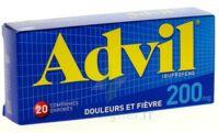 ADVIL 200 mg, 20 comprimés enrobés à BISCARROSSE
