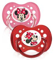 Dodie Disney sucettes silicone +18 mois Minnie Duo à BISCARROSSE