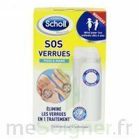 Scholl SOS Verrues traitement pieds et mains à BISCARROSSE