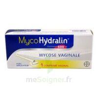 MYCOHYDRALIN 500 mg, comprimé vaginal à BISCARROSSE