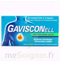 GAVISCONELL SANS SUCRE MENTHE comprimés à croquer à BISCARROSSE