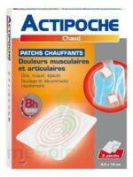 Actipoche Patch chauffant douleurs musculaires B/2 à BISCARROSSE