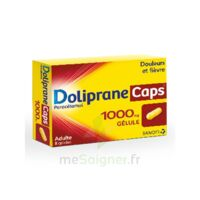 DOLIPRANECAPS 1000 mg Gélules Plq/8 à BISCARROSSE