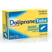 DOLIPRANETABS 500 mg Comprimés pelliculés Plq/16 à BISCARROSSE