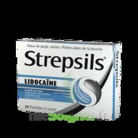 Strepsils lidocaïne Pastilles Plq/24 à BISCARROSSE