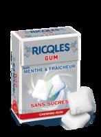 Ricqles Gum Chew gum dragée sans sucre blancheur hygiène B/24g à BISCARROSSE