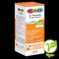 Pédiakid 22 Vitamines et Oligo-Eléments Sirop abricot orange 125ml à BISCARROSSE
